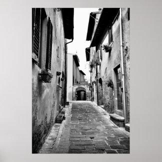 Poster Allée de l'Italie