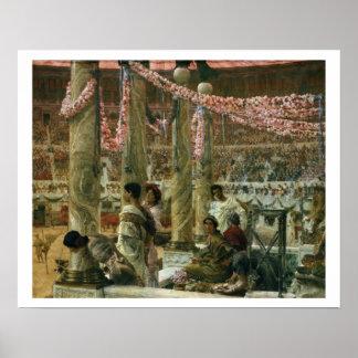 Poster Alma-Tadema | Caracalla et Geta, 1907