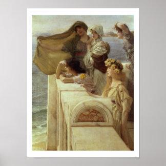 Poster Alma-Tadema | chez Cradle de l'Aphrodite, 1908
