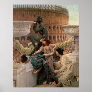 Poster Alma-Tadema | le Colisé, 1896