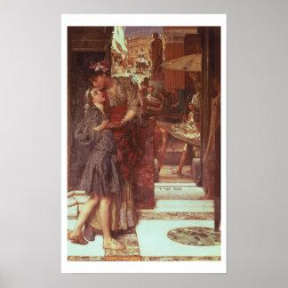 Poster Alma-Tadema | le départ, 1880