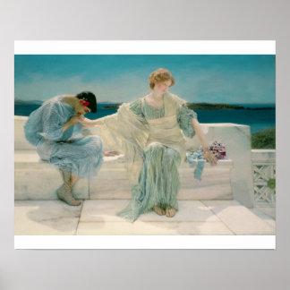 Poster Alma-Tadema | ne me demandent pas plus, 1906