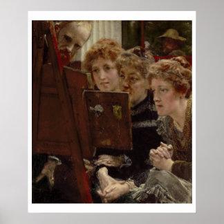Poster Alma-Tadema | par groupe de famille, 1896