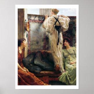 Poster Alma-Tadema | qui est lui ? , 1884