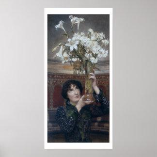 Poster Alma-Tadema | un drapeau de la trêve, 1900
