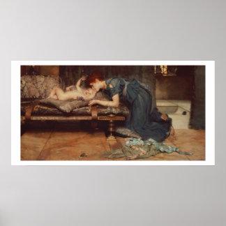 Poster Alma-Tadema   un paradis terrestre, 1891