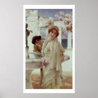 Poster Alma-Tadema | une divergence de vues