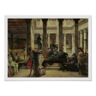 Poster Amant d'art romain d'Alma-Tadema |, 1870