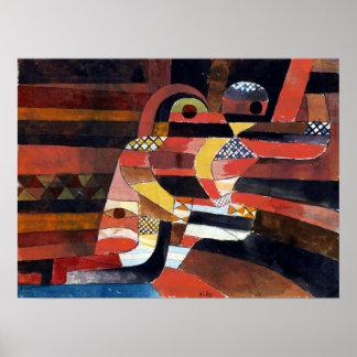 Poster Amants de Paul Klee