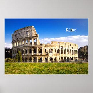 Poster Amphithéâtre romain de Colosseum personnalisé