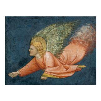 Poster Ange de vol (disciple de Giotto) CC0525