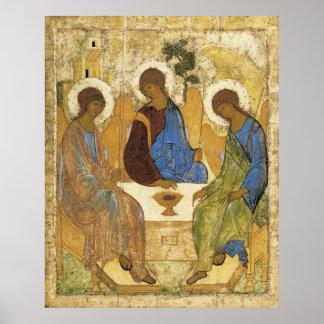 Poster Anges à la trinité de Mamre