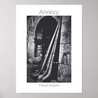 Poster Annecy - affiche de DES Alpages de fête