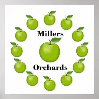 Poster Apple chronomètrent, mamie Smith