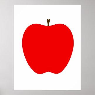 Poster Apple moderne impriment