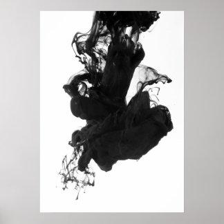 Poster Art de mur de fluidité