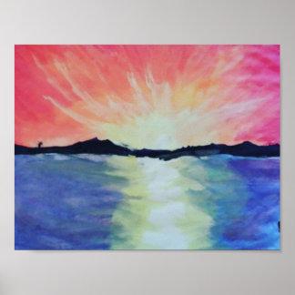 Poster Art de soleil