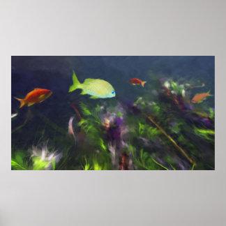 Poster Asile de poissons