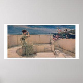 Poster Attentes d'Alma-Tadema |, 1885