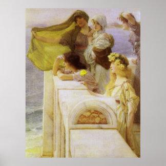 Poster Au berceau de l'Aphrodite par monsieur Lawrence