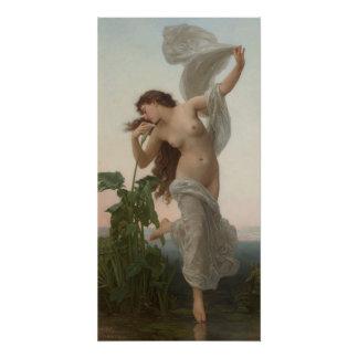 Poster Aube de William-Adolphe Bouguereau L'aurore