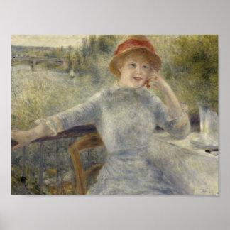 Poster Auguste Renoir - Alphonsine Fournaise