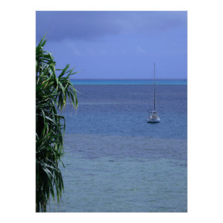 Poster Baie de Kaneohe