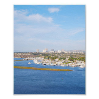 Poster Baie supérieure de Newport - baie arrière