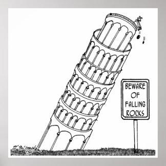 Poster Bande dessinée 0958 de Galilée