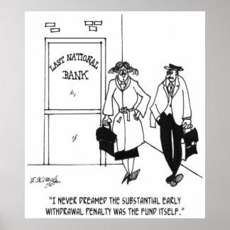 Poster Bande dessinée 3328 de banque