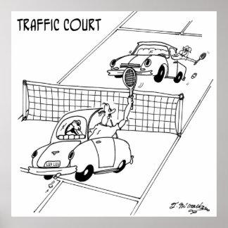 Poster Bande dessinée 5216 de tennis