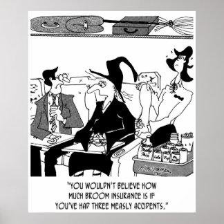 Poster Bande dessinée 5221 d'assurance