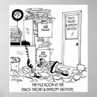 Poster Bande dessinée 6292 de chaos