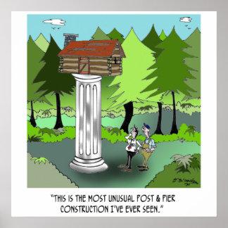 Poster Bande dessinée 6369 de construction