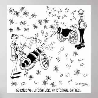 Poster Bande dessinée 7146 de la Science