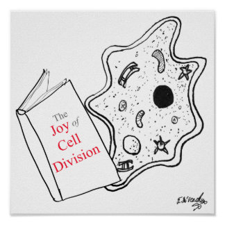 Poster Bande dessinée 9416 de biologie