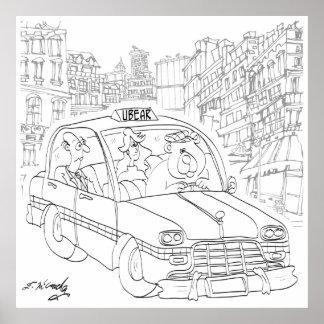 Poster Bande dessinée 9440 d'ours
