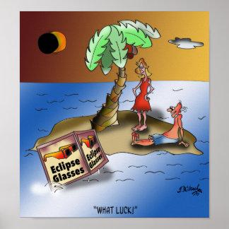 Poster Bande dessinée 9523 d'éclipse