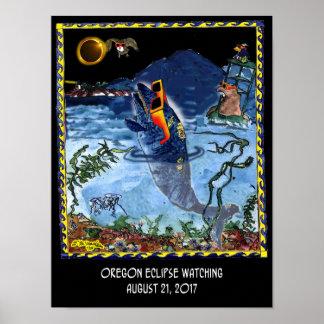Poster Bande dessinée 9524 d'éclipse