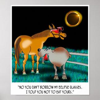 Poster Bande dessinée 9525 d'éclipse