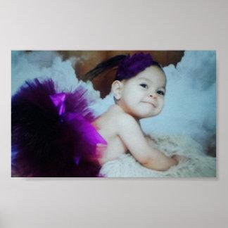 Poster Bébé - défilé de mode de poupée