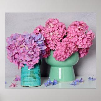 Poster Belle composition florale