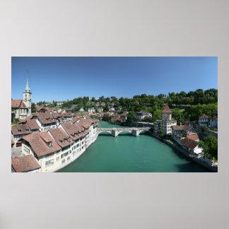 Poster Berne Suisse : Alpes suisses