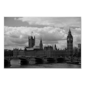 Poster Big Ben et le Parlement (Londres)