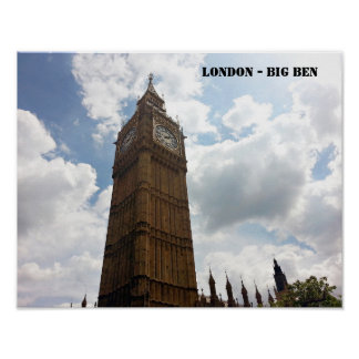 Poster Big Ben - Londres