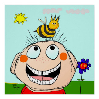 Poster billy and the bee