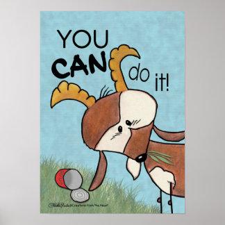 Poster Billy Chèvre-vous POUVEZ le faire !