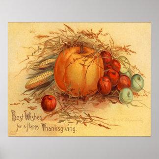 Poster Bon thanksgiving !