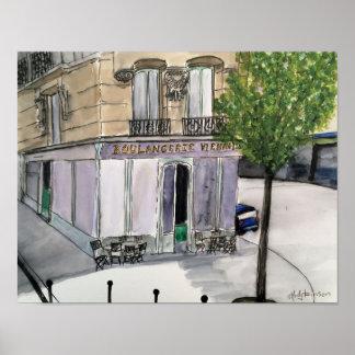 Poster Boulangerie Paris - affiche
