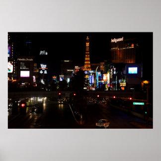 Poster Boulevard de Las Vegas